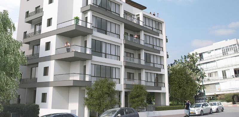 הפטמן 2, תל אביב / הדמיה: החברה לחיזוק מבנים בישראל