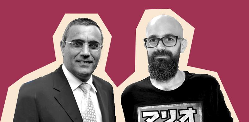 רון קלדס ואבישי קרואני / צילום: אביב חופי, סיון פרג'