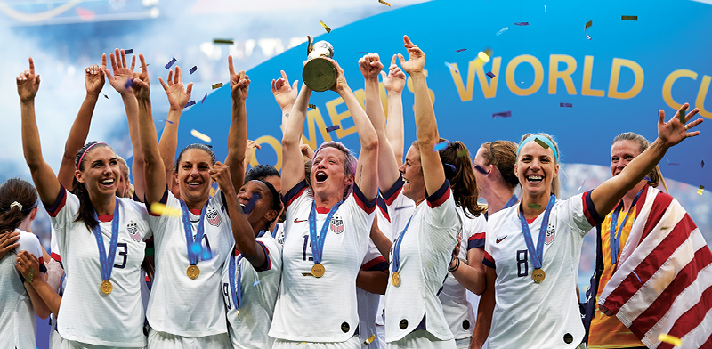 """נבחרות ארה""""ב בכדורגל / צילום: shutterstock"""
