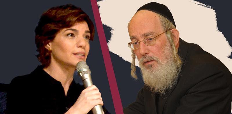ישראל אייכלר ותמר זנדברג / צילום: איל יצהר, עיבוד: טלי בוגדנובסקי