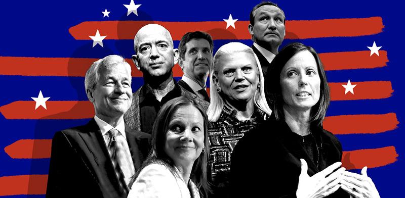 """181 מנהלים אמריקאים חותמים """"רווחים זה לא הכול"""" / צילום: רויטרס"""