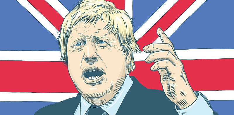 בוריס ג'ונסון, ראש ממשלת בריטניה  / צילום: shutterstock, שאטרסטוק