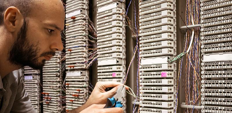 """מרכז נתונים בארה""""ב / צילום: shutterstock, שאטרסטוק"""