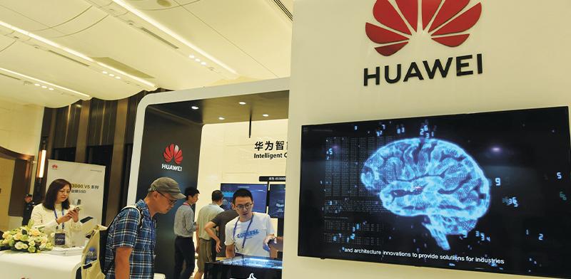 דוכן של Huawei. איפה שאפל נכשלה,?היא הצליחה  / צילום: Long Wei, רויטרס