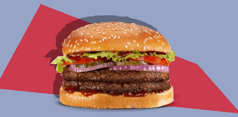 המבורגר ביג ויגן / צילום: נמרוד גנישר