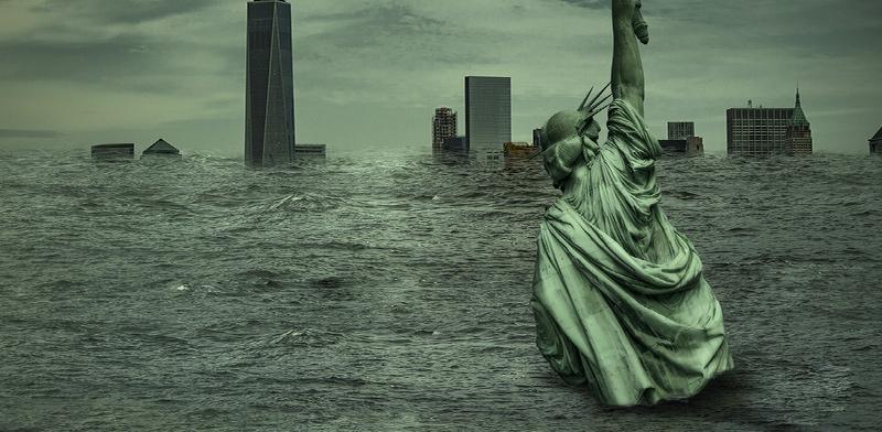 ניו יורק בדרך לטבוע / אילוסטרציה: shutterstock