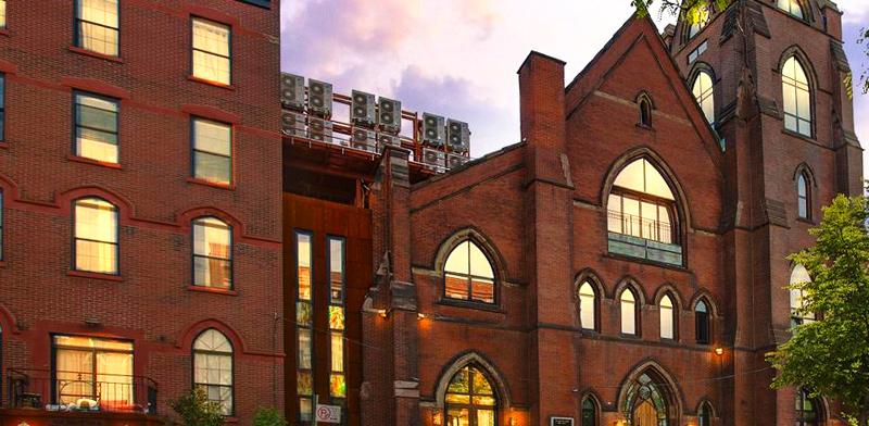 כנסייה בשכונת וויליאמסבורג שבברוקלין / צילום: מצגת החברה