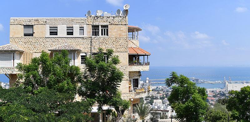 בניין המריבה ברחוב הציונות בחיפה / צילום: פאול אורלייב