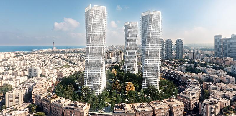 כיכר המדינה, תל אביב / הדמיה: יסקי מור סיון
