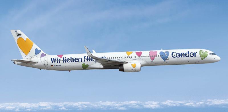 מטוס של חברת התעופה הגרמנית קונדור / צילום: קונדור