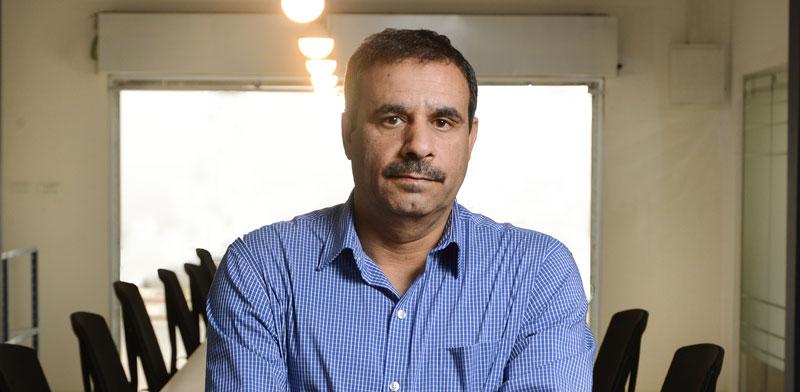 """ד""""ר מוחמד אלנבארי / צילום: איל יצהר"""