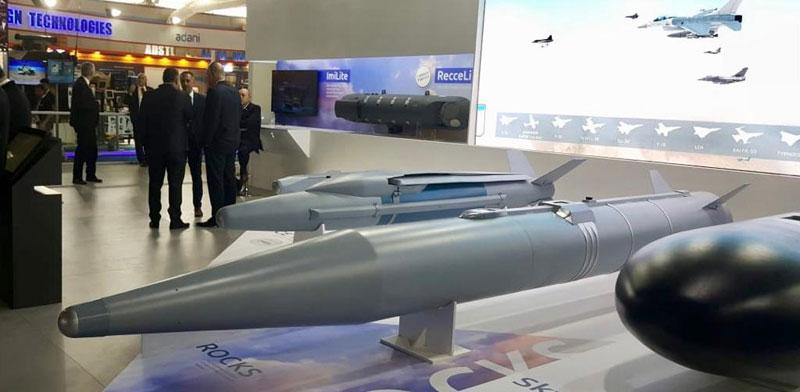 הטיל רוקסי / צילום: דוברות רפאל