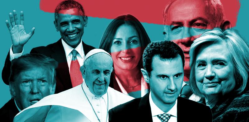 אנשי העשור בתחום הפוליטיקה / עיבוד תמונה: טום סוויסה