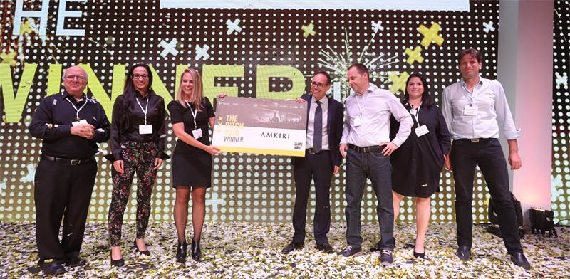 The Pitch 2018 winners / Photo: Shauli Landner