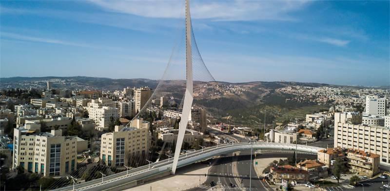 ירושלים. אלופת הבנייה ל-2018 / צילום: Shutterstock