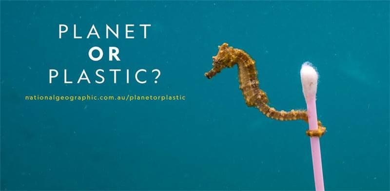 קמפיין Planet or Plastic של נשיונל ג'אוגרפיק / צילום: צילום מסך