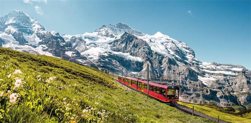 האלפים השוויצריים/צילום: SWISS
