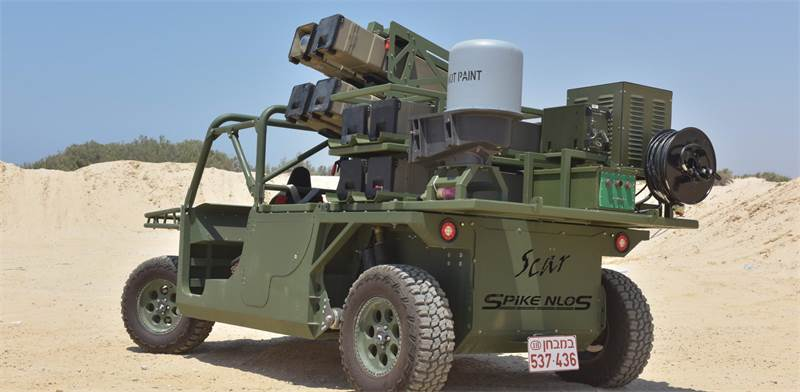 Rafael Spike NLOS  photo: Rafael Advanced Defense Systems Ltd