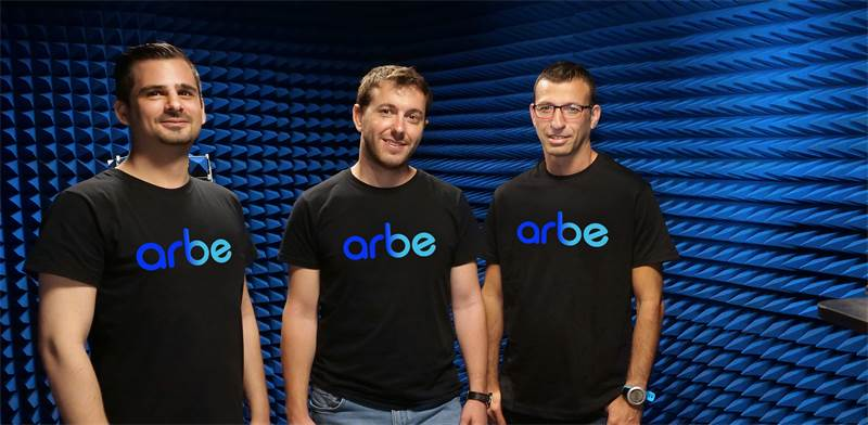 Arbe founders Kobi Marenko, Dr. Noam Arkind and Oz Fixman,  / Photo: Arbe PR , ira prohorov