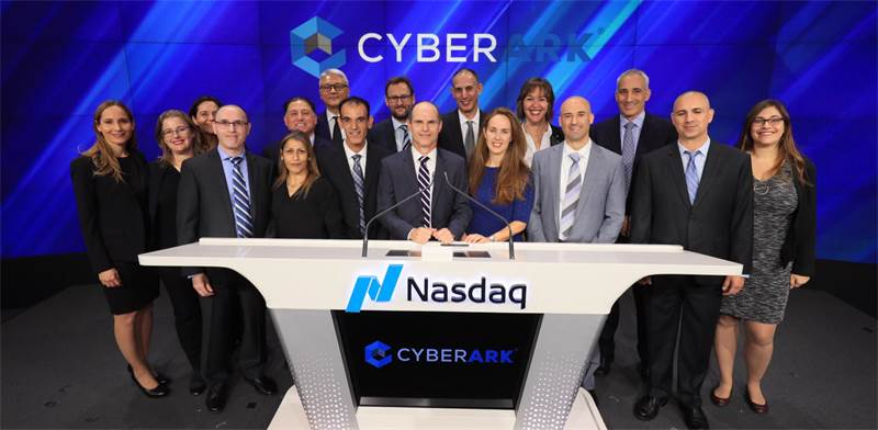 CyberArk Photo: Nasdaq - Libby Greene