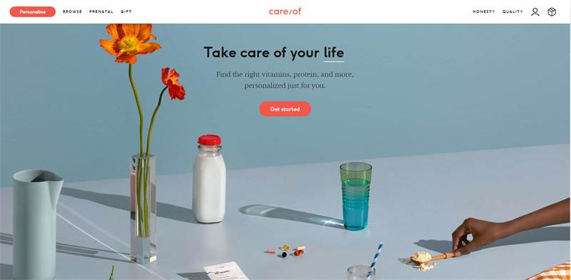 Care/of. מסייעת לאנשים לקחת אחריות על בריאותם / צילום: צילום מסך