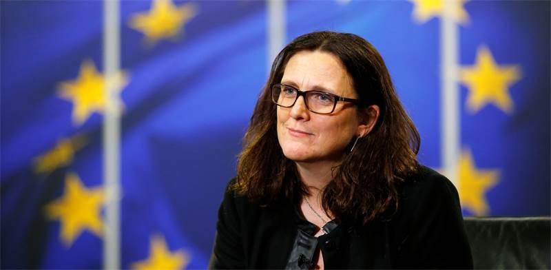 ססיליה מאלמסטרום, נציבת הסחר של האיחוד האירופי / צילום: REUTERS/Francois Lenoir