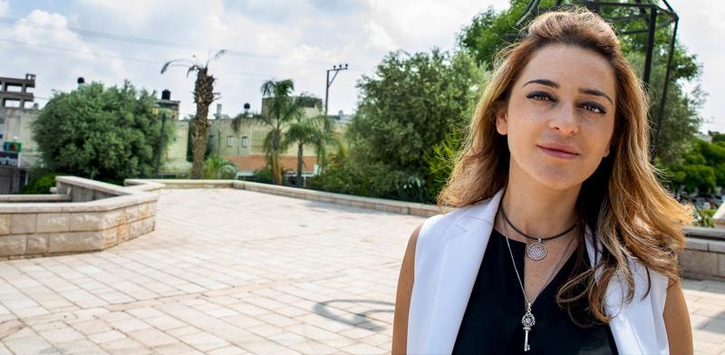 עינת פלדמן, מהנדסת העיר של טירה / צילום: כדיה לוי