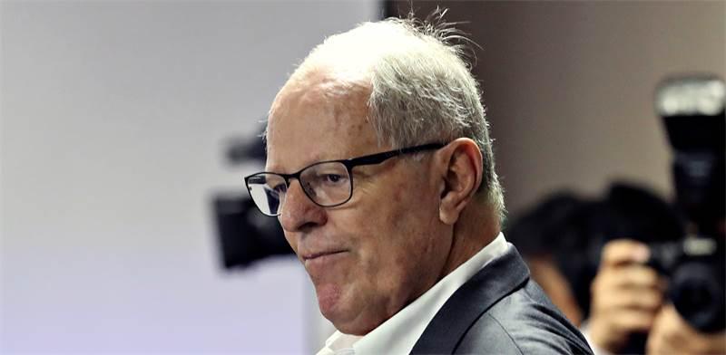 פדרו פבלו קוצ'ינסקי, נשיא פרו לשעבר / צילום: REUTERS, Guadalupe Pardo