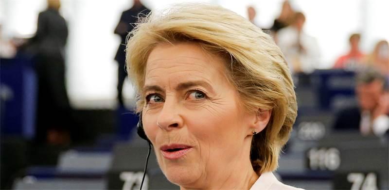 אורסולה פון דר ליין, נשיאת הנציבות של האיחוד האירופי / צילום: וינסנט קסלר, רויטרס