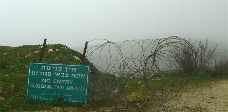 גבול לבנון / צילום: איל יצהר, גלובס