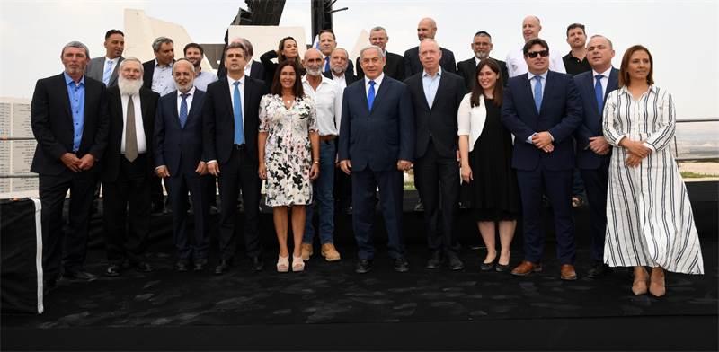 """ממשלת ישראל במבואות יריחו / צילום: חיים צח, לע""""מ"""