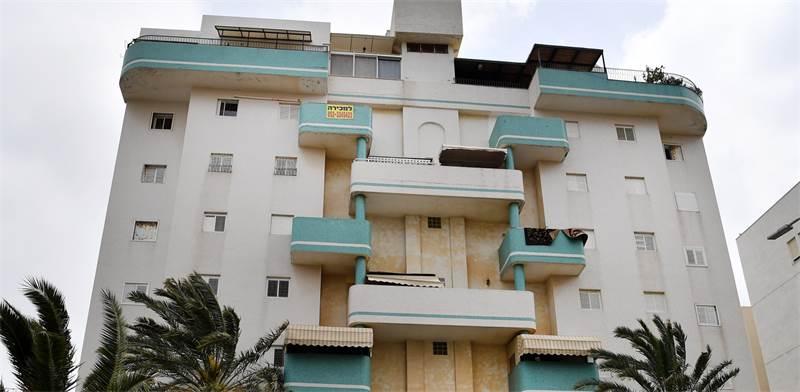 הבניין ברחוב ששת הימים בחדרה / צילום: פאול אורלייב