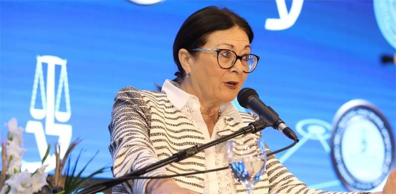 """נשיאת בית המשפט העליון אסתר חיות בכנס לשכ""""ת עורכי הדין / צילום: כדיה לוי, גלובס"""
