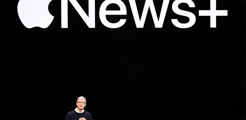"""מנכ""""ל אפל טים קוק / צילום: REUTERS, Stephen Lam"""
