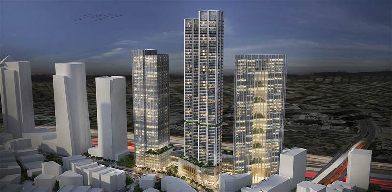 Ramat Gan Diamond Center site  image: Yashar Architects and Apartment for Rent - Rental Housing Gove