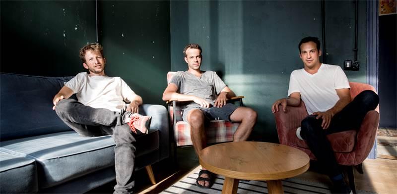 אור בוקובזה, חן אבני ודוד שרז, מקימי מיזם Venn / צילום: חן זיו