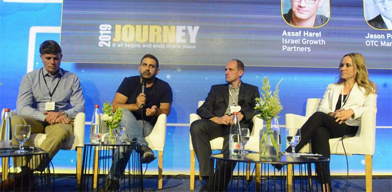Successful exit panel / Photo: Eyal Izhar, Globes