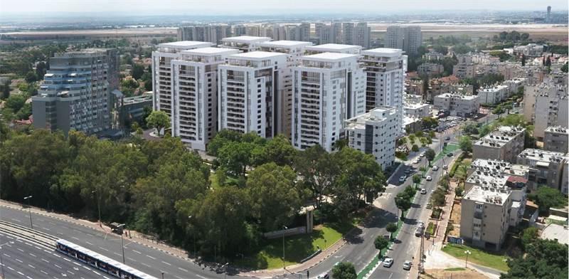 הדמיית פרויקט פינוי בינוי באור יהודה / קרדיט- צפור אדריכלים ומתכנני ערים