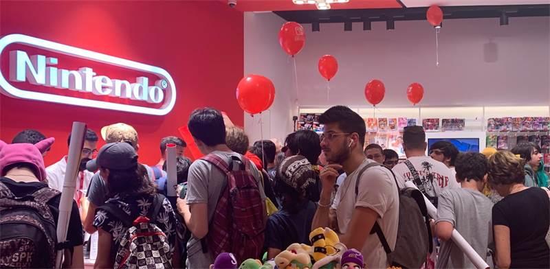 Nintendo's Tel Aviv store Photo: Shany Moses / Photo: שני מוזס, Globes