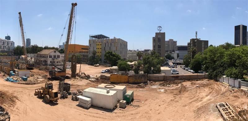 """מתחם קבוצת יונייטד שרונה / צילום: יניב אלמליח, יח""""צ"""