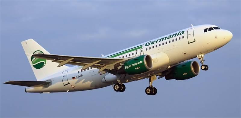 """מטוס של חברת התעופה גרמניה איירליינס / צילום: יח""""צ"""