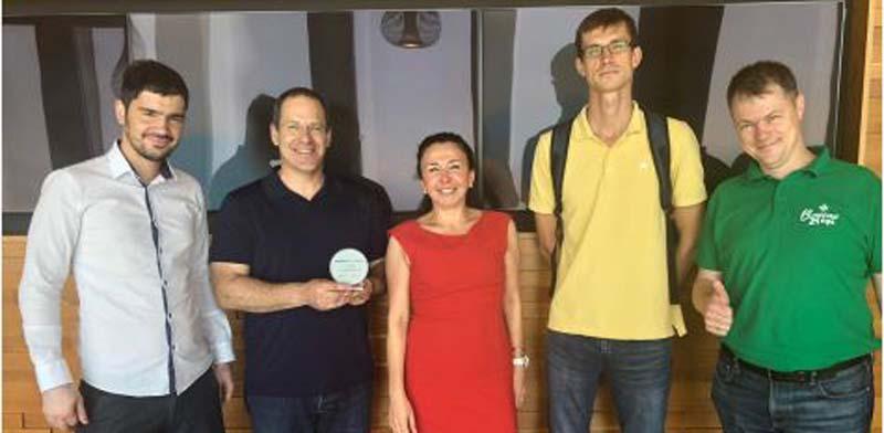 Ofer Tziperman receives startup award