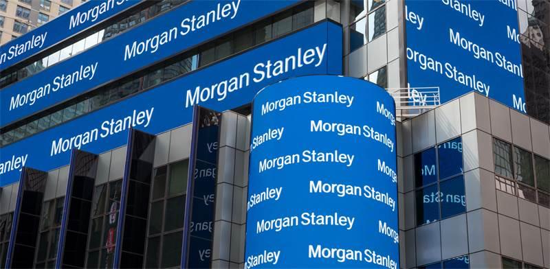 פרסום של מורגן סטנלי בניו יורק / צילום: Shutterstock