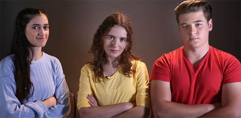 מייקל באקלנד, ענבל וסלי, למא בהאא גנאים  / צילום: מתן פורטנוי, גלובס