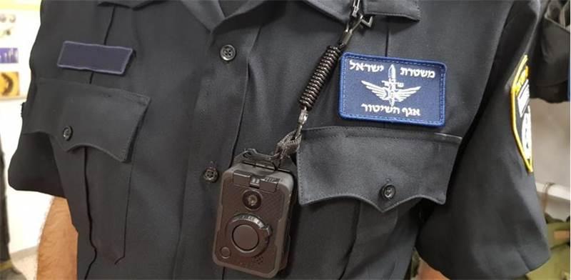המצלמה הלבישה החדשה של המשטרה / צילום: משטרת ישראל