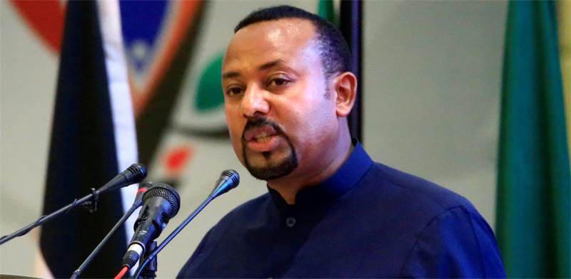 אביי אחמד, ראש ממשלת אתיופיה, זוכה פרס נובל לשלום / צילום: אנדרו הוונס, רויטרס