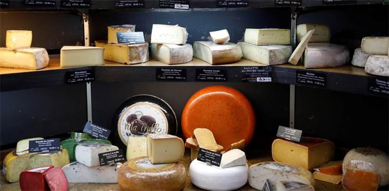 גבינות / צילום: REUTERS, Charles Platiau
