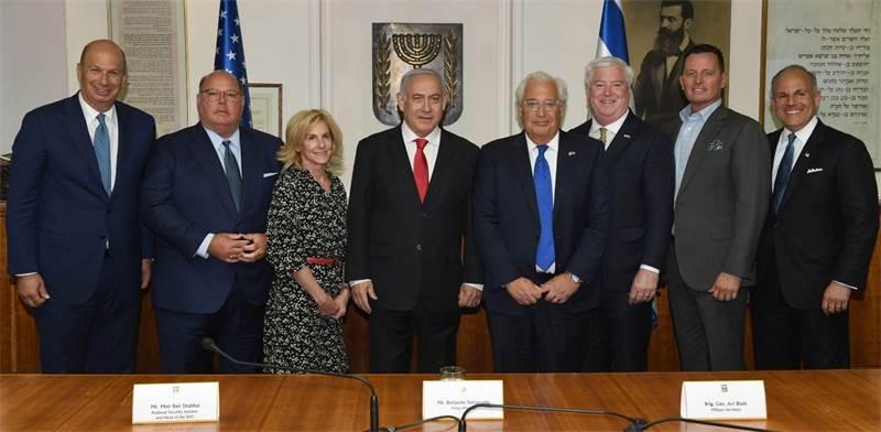 """בנימין נתניהו ומשלחת השגרירים / צילום: קובי גדעון, לע""""מ"""