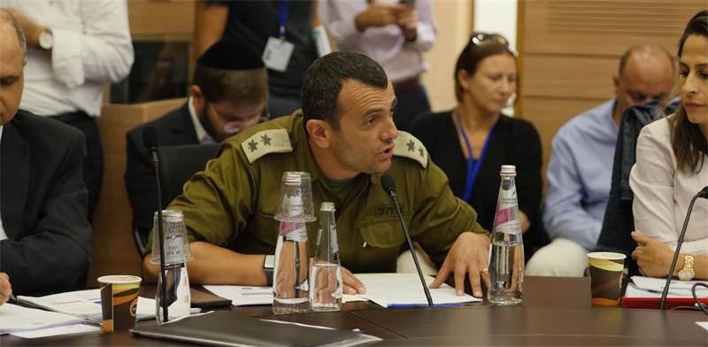 """שי באב""""ד בדיון בוועדת הכספים / צילום: דוברות הכנסת, יח""""צ"""