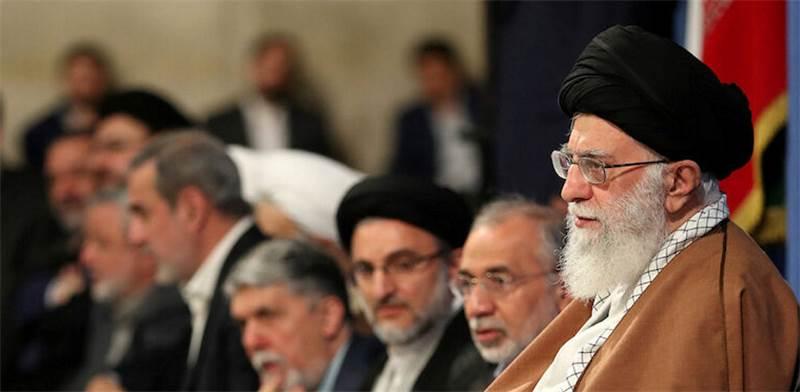 המנהיג העליון של איראן, עלי חמינאי / צילום: HANDOUT
